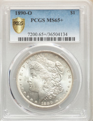 1890-O S$1 Morgan Dollar PCGS MS65 - 743823052