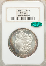 1878-CC S$1 Morgan Dollar NGC MS65 CAC
