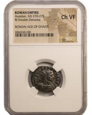 Roman AE of Aurelian (AD 270-275) NGC (VF)