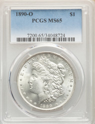 1890-O S$1 Morgan Dollar PCGS MS65 - 743840011