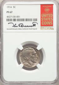 1914 5c Buffalo Nickel NGC PF67 - 743754007