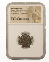 Roman AE of Magnentius NGC (F)