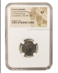 Roman AE of  Constantine I, the Great (AD 272-337) NGC (XF)