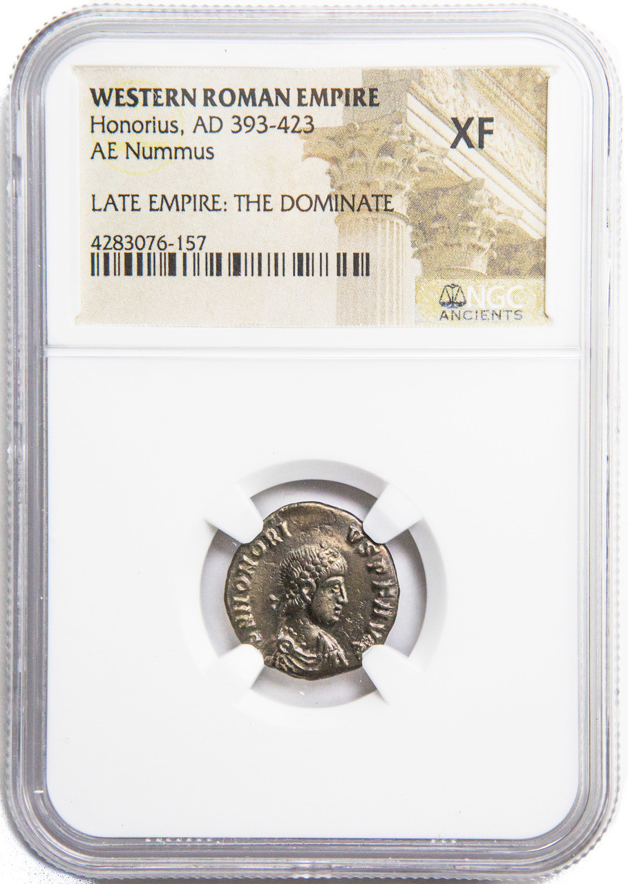 AD 308-324 Roman AE of Licinius 1st CH-AU NGC