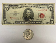 1963 Franklin Half Dollar & Red Seal Note - End of An Era Set