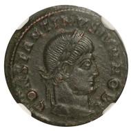 Roman AE of  Constantine II (AD 316-340) NGC (AU)
