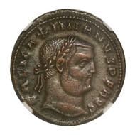 Roman AE of Galerius (AD293-311) NGC (XF)