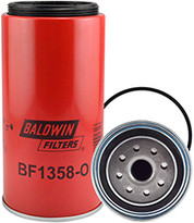 Baldwin BF1358-O Fuel/Water Separator Spin-on with Open Port for Bowl