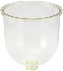 Baldwin 200-21H Clear Bowl with Heater Probes