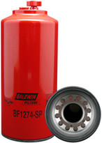 Baldwin BF1274-SP FWS Spin-on with Drain and Sensor Port