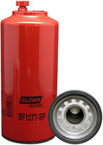Baldwin BF1277-SP FWS Spin-on with Drain and Sensor Port