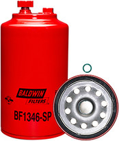 Baldwin BF1346-SP FWS Spin-on with Drain and Sensor Port