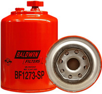 Baldwin BF1273-SP FWS Spin-on with Drain and Sensor Port