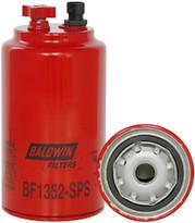 Baldwin BF1352-SPS FWS Spin-on with Drain, S-P, Reusable Sensor