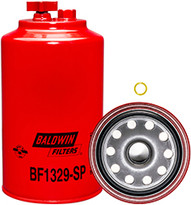 Baldwin BF1329-SP FWS Spin-on with Drain and Sensor Port