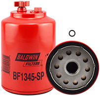 Baldwin BF1345-SP FWS Spin-on with Drain and Sensor Port