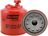 Baldwin BF1222-SP FWS Spin-on with Drain, Sensor Port