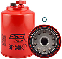 Baldwin BF1348-SP FWS Spin-on with Drain and Sensor Port