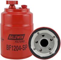 Baldwin BF1204-SP Sec. FWS Spin-on with Drain, Sensor Port
