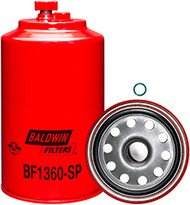 Baldwin BF1360-SP Fuel/Water Separator Spin-on with Drain and Sensor Port