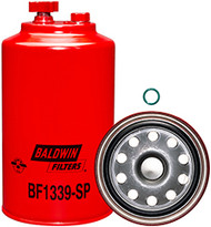 Baldwin BF1339-SP FWS Spin-on with Drain and Sensor Port