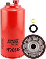 Baldwin BF9903-SP FWS Spin-on with Drain and Sensor Port