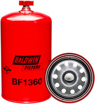 Baldwin BF1360 Fuel/Water Separator Spin-on with Drain