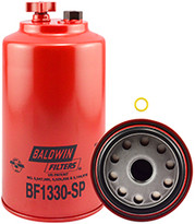 Baldwin BF1330-SP FWS Spin-on with Drain and Sensor Port