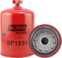 Baldwin BF1231 Fuel/Water Separator Spin-on with Drain