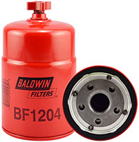 Baldwin BF1204 Sec. Fuel/Water Seperator Spin-on with Drain