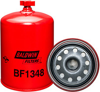 Baldwin BF1348 Fuel/Water Separator Spin-on with Drain