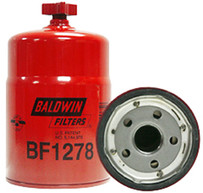 Baldwin BF1278 FWS Spin-on with Drain