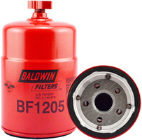 Baldwin BF1205 Pri. Fuel/Water Separator Spin-on with Drain