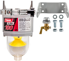 Baldwin 100 Diesel Fuel Filter/Water Separator