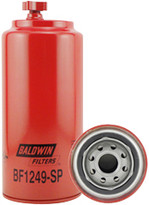 Baldwin BF1249-SP Fuel/Water Separator Spin-on with Drain, Sensor Port