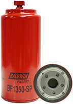 Baldwin BF1350-SP Fuel/Water Separator Spin-on with Drain and Sensor Port