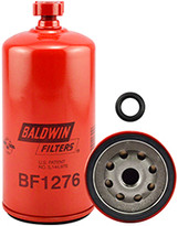 Baldwin BF1276 Fuel/Water Separator Spin-on with Drain