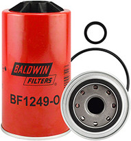 Baldwin BF1249-O Fuel/Water Separator Spin-on with Open Port for Bowl