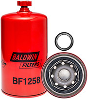 Baldwin BF1258 Fuel/Water Separator Spin-on with Drain