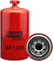 Baldwin BF1268 Suction Line Fuel/Water Sensor Spin-on with Drain