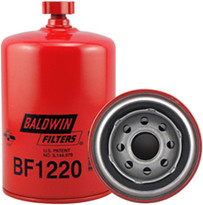 Baldwin BF1220 Fuel/Water Separator Spin-on with Drain