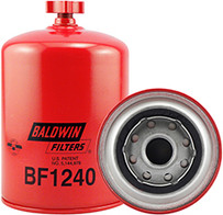 Baldwin BF1240 Fuel/Water Separator Spin-on with Drain