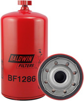 Baldwin BF1286 Fuel/Water Separator Spin-on with Drain