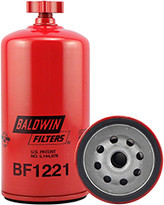 Baldwin BF1221 Fuel/Water Separator Spin-on with Drain
