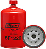 Baldwin BF1226 Fuel/Water Separator Spin-on with Drain