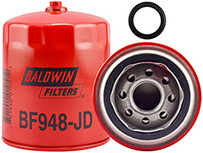 Baldwin BF948-JD Fuel Spin-on with Drain