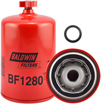 Baldwin BF1280 Fuel/Water Separator Spin-on with Drain