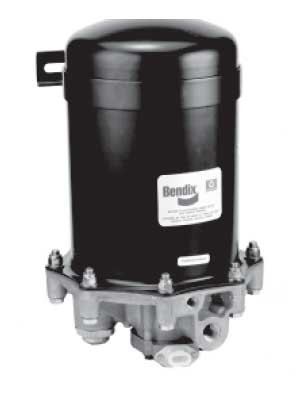 Bendix 65225 12-Volt AD-9 Air Dryer with Mounting Bracket Kit (No Wire Harness)