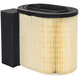 "Baldwin PA10061 Air Filter Element, 9-9/16"" H, 11-1/32"" L"