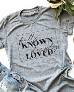 Fully Known, Deeply Loved Graphic Tee